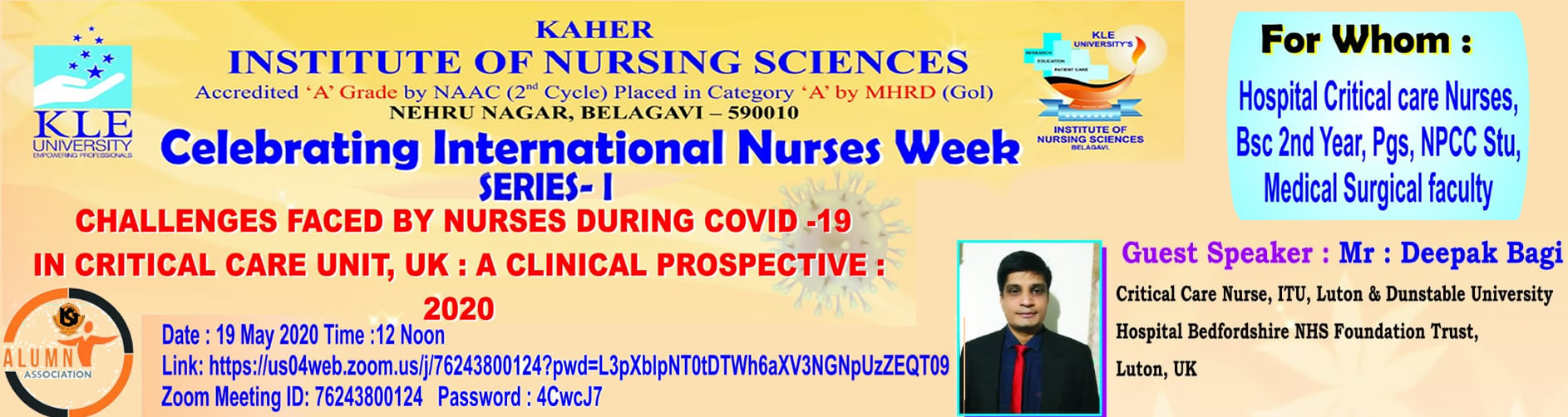 Celebrating International Nurses Week